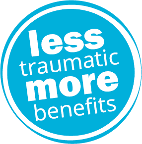 less traumatic more