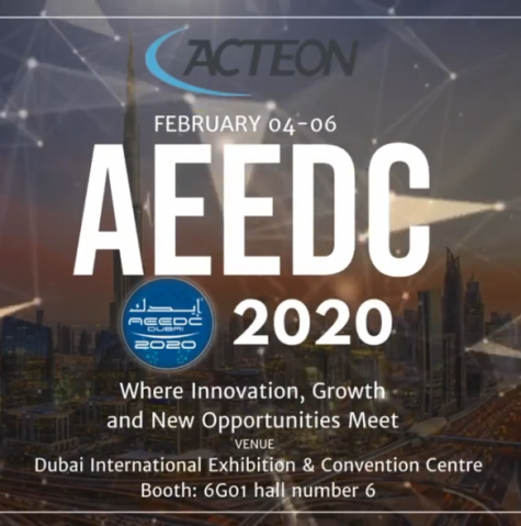 ACTEON AT AEEDC 2020 - BOOTH 6G01 HALL 6