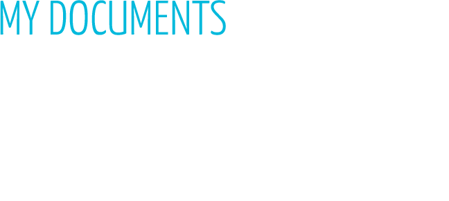 MY DOCUMENTS USER MANUALS, SALES BROCHURES... FIND ALL OUR DOWNLOADABLE DOCUMENTS HERE