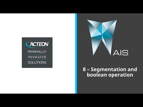 SEGMENTATION AND BOOLEAN OPERATIONS