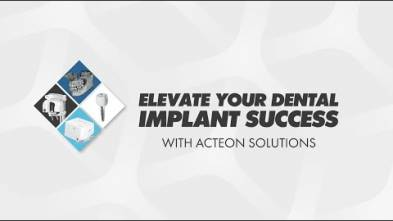 ACTEON Implant Success Solution