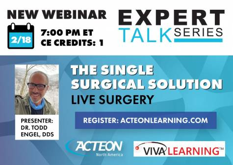 The Single Surgical Solution Live Surgery Webinar